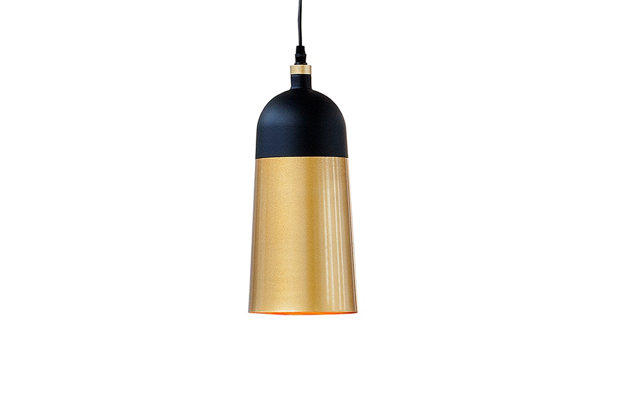 Lampa wisząca Modern Chic I czarne złoto