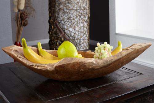 Misa drewniana Burl miska z drewna naturalnego 60cm 21053