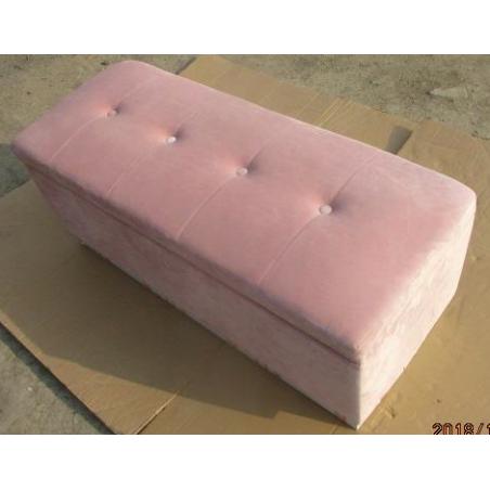 Puf TOBY PACK otwierany 100X40X40cm velvet pink