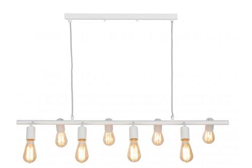 Lampa wisząca MIAMI/H8/W biała
