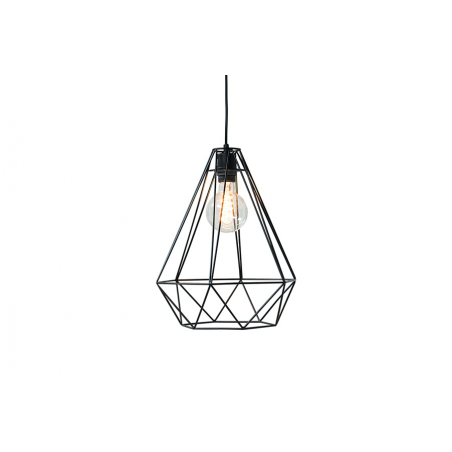 Lampa wisząca Cage L czarna