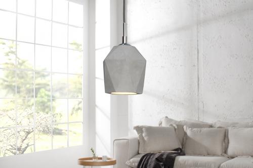 Lampa wisząca Cement Prisma beton 36240