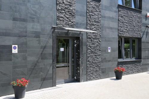 Kamień elewacyjny łupek KNOSOS 15x56.2x2cm czarny