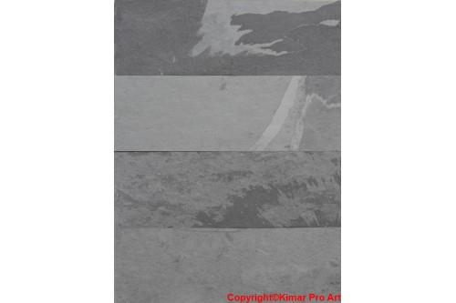 Płytki łupek grafit 30x90x0.6-0.9cm łupany Nero Brasil