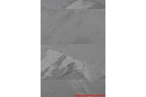 Płytki łupek grafit 40x80x0.6-0.9cm łupany Nero Brasil