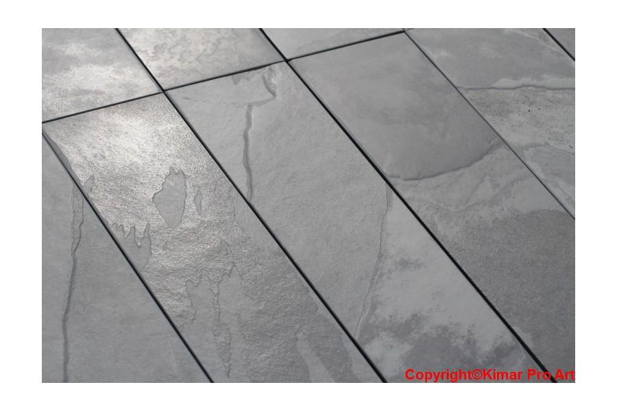 Płytki łupek grafit 15x60x1cm Nero Brasil Anticato