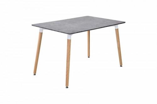 Stół LOFT beton 120x80x75cm
