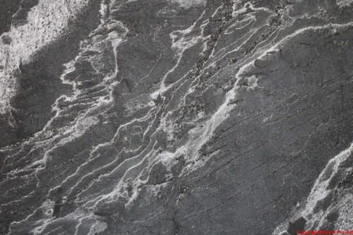 Płytki łupek 40x80x1,2cm srebrny szczotkowany Galaktica Struttura
