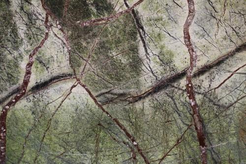 Płytki marmurowe Rain Forest Green 60x120x2cm zielony