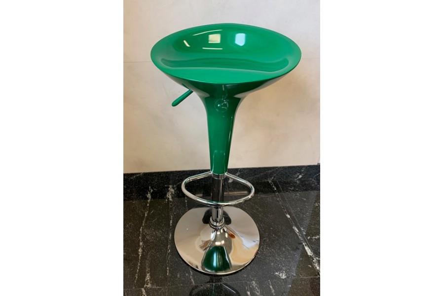 Hoker 2szt BAR stołek barowy ABS zielony - 160zł za komplet 2szt!