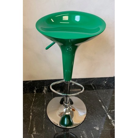 Hoker BAR stołek barowy ABS zielony