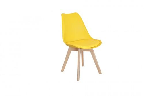 Krzesło SKANDI żółte z...