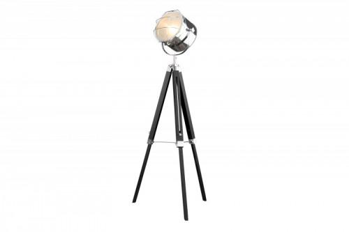 Lampa podłogowa Statyw 110-150 cm czarny chrom / 36883