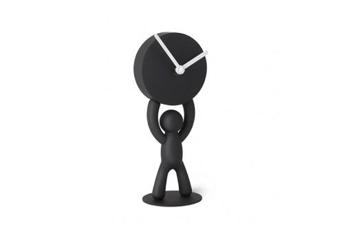 Zegar stojący, czarny, BUDDY