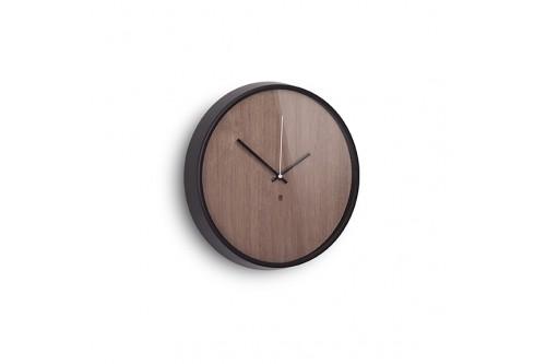 Zegar ścienny, czarno...