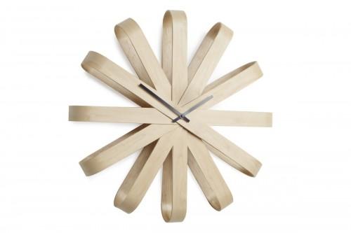 Zegar ścienny, drewniany,...