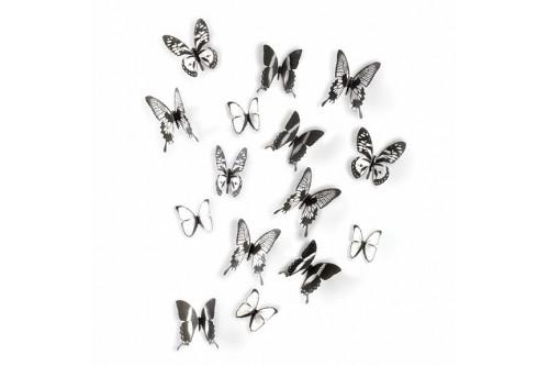 Dekoracja ścienna, motyle...