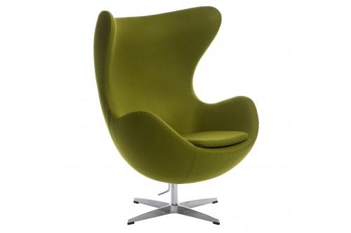 Fotel Jajo kaszmir zielony...