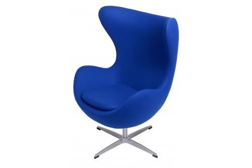 Fotel Jajo niebieski ciemny...