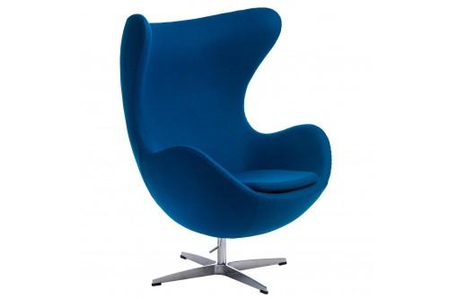 Fotel Jajo niebieski...