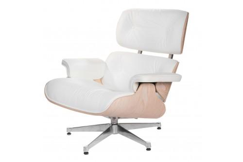 Fotel Vip biały/jasne...